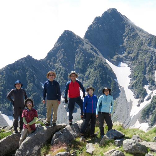 登山学校画像